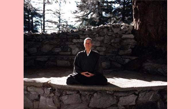 Leonard Cohen, um zen budista.