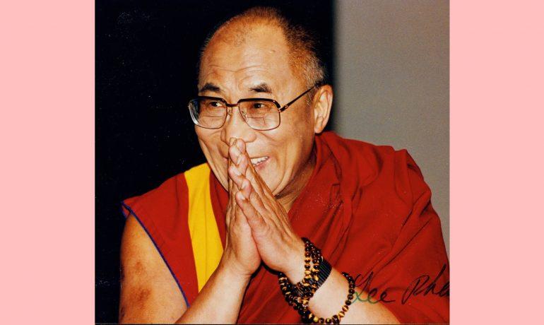 Visita do Dalai Lama