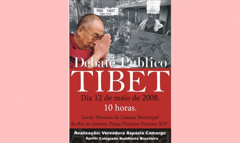 """""""Debate Público sobre a Questão Tibetana"""""""