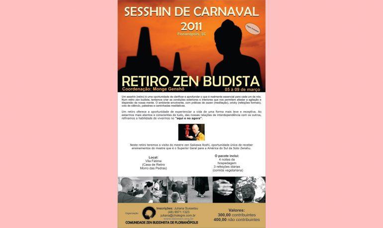 Sesshin de Carnaval 2011 - 22 vagas