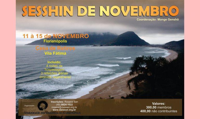 Retiro aberto em Novembro - Florianópolis