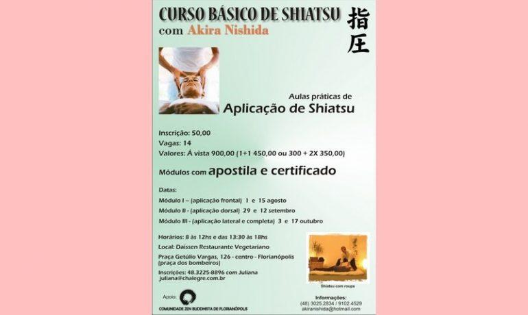 Curso de Shiatsu em Florianópolis
