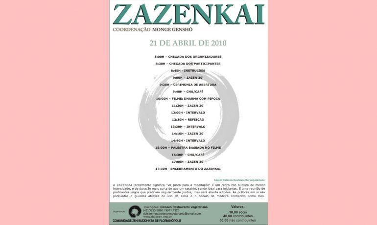 Zazenkai com filme