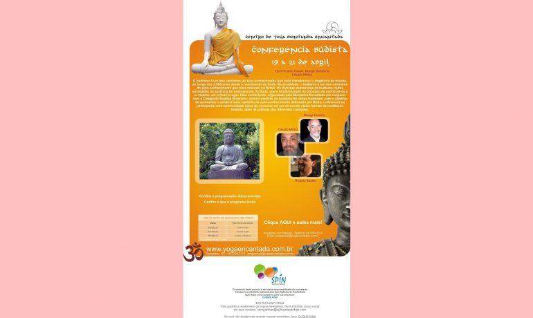 Conferência Buddhista, 17 a 21 de Abril