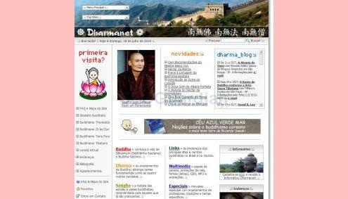Site Dharmanet suspende suas atividades