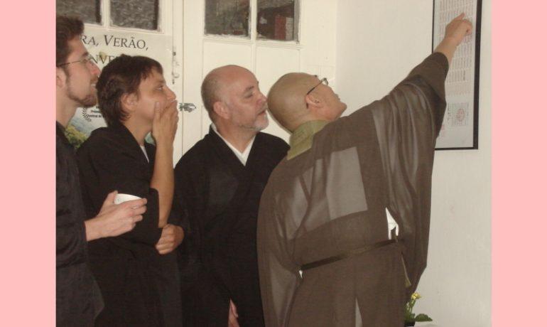 Saikawa Roshi explica linhagem de ordenação