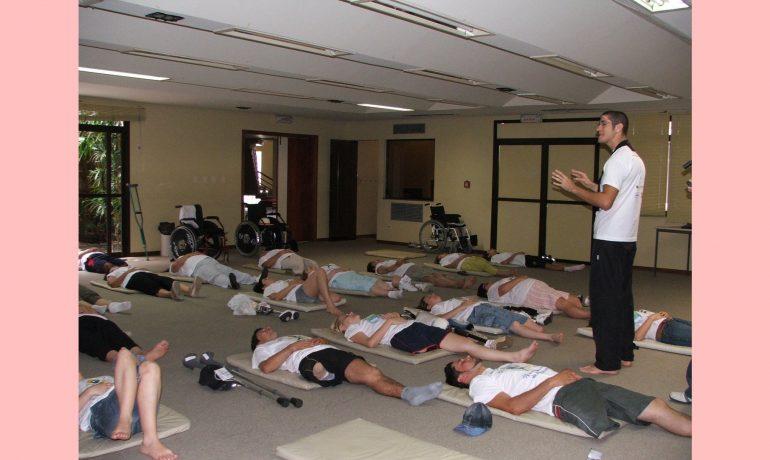 Yoga e Zen para amputados