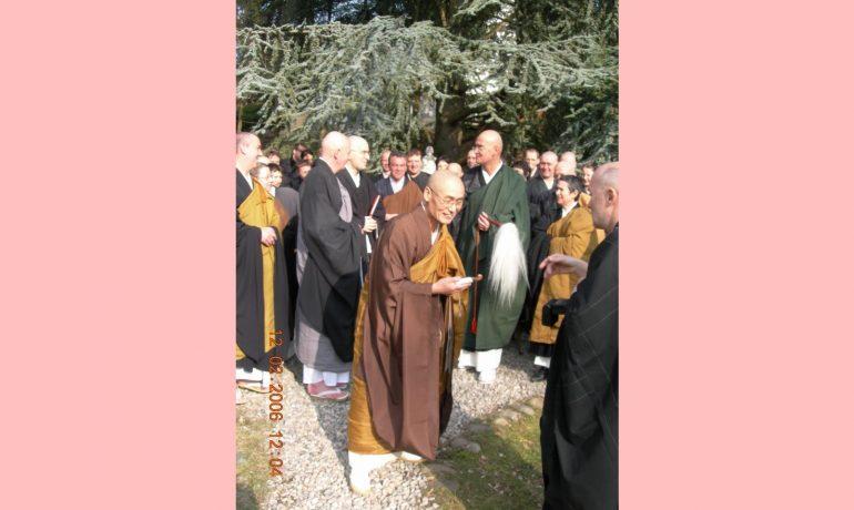 Quais são as graduações dos monges?
