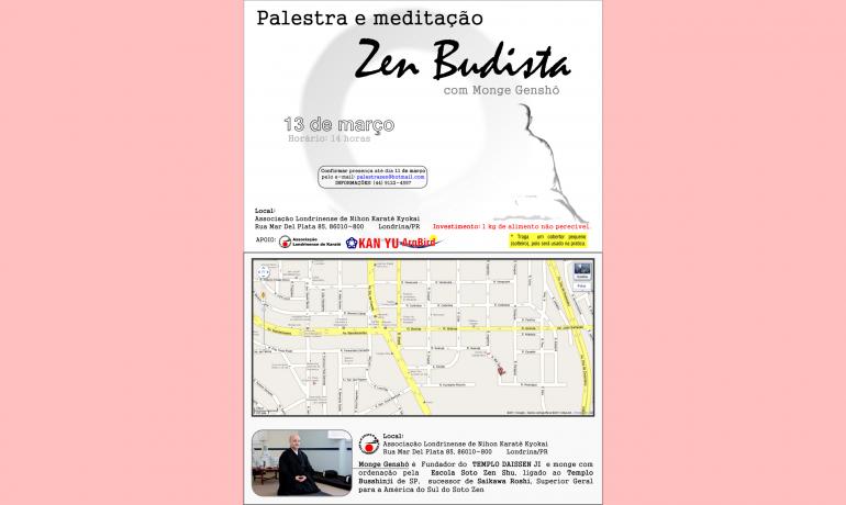 Palestra em Londrina - 13 Março