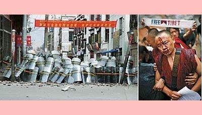 China decide esmagar tibetanos
