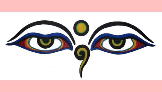 Temos que usar os olhos de Buda