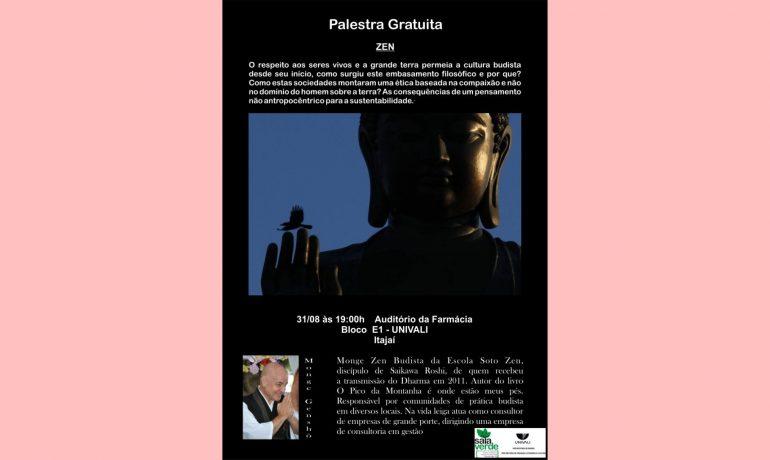 Palestra na Univali - Itajaí - 31/08