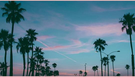 Somos o puro céu azul