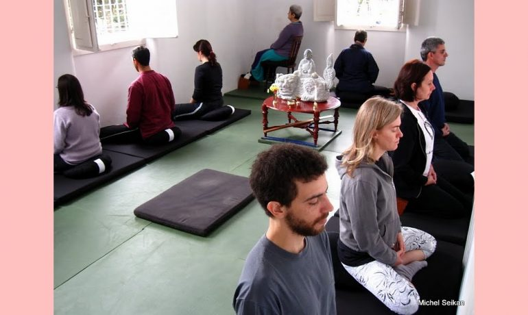 Meditação no zazenkai