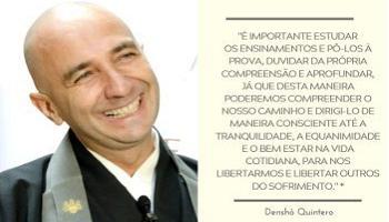 Duvidar da própria compreensão | Monge Denshô Quintero